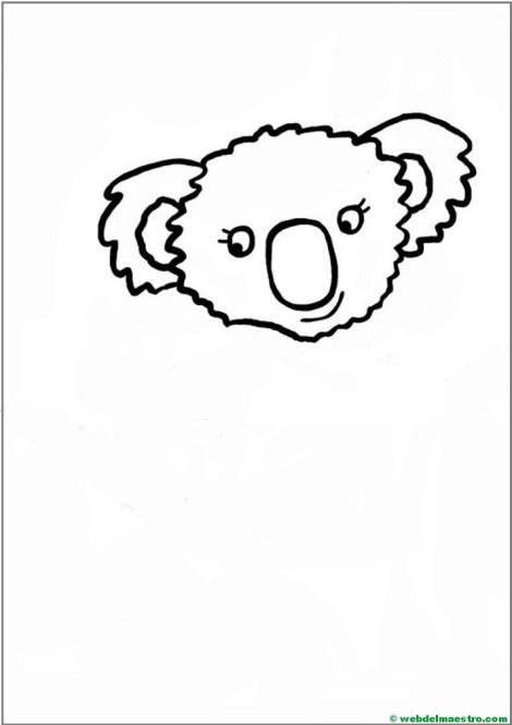 Como dibujar un koala- paso 4