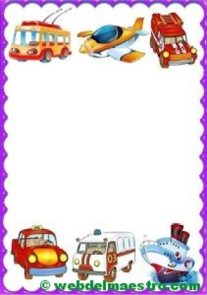 Medios de transporte para Infantil
