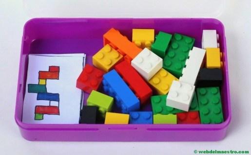 Psicomotricidad fina con piezas lego-2