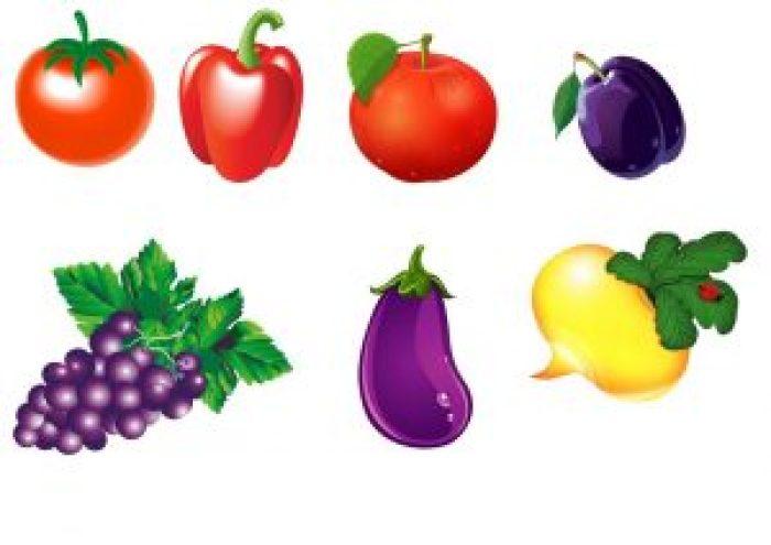 dibujos-frutas-hortalizas y verduras-
