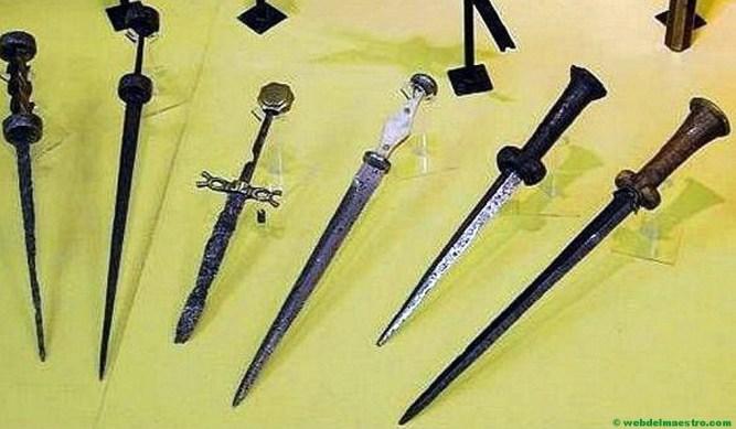 Armas de hierro de la Prehistoria