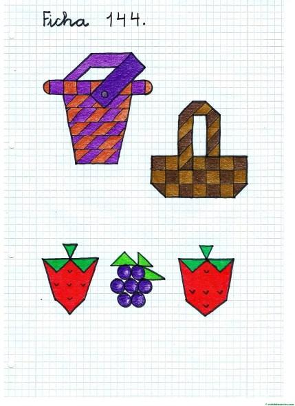Dibujos en cuadrícula.campo-picnic-2
