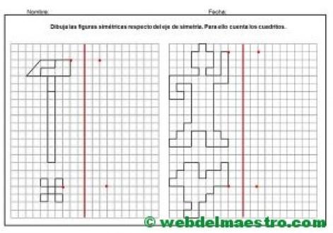 Dibujos simetricos en cuadricula-9