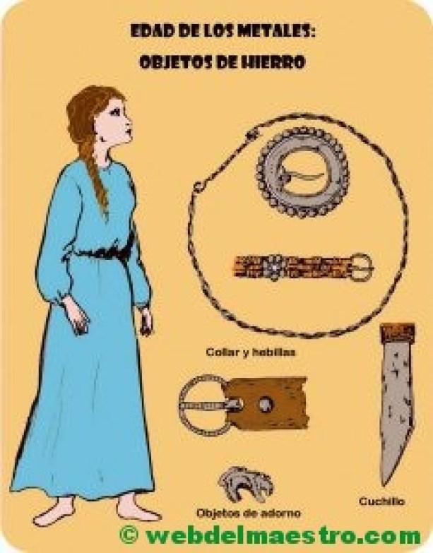 Edad de los metales-utensilios de hierro