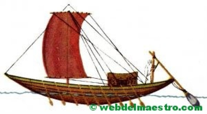 primeros barcos de vela