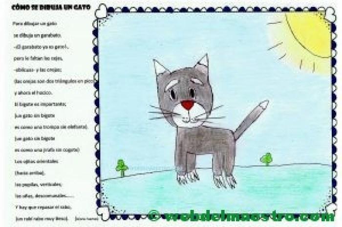 terminación de trabajos-cómo se dibuja un gato