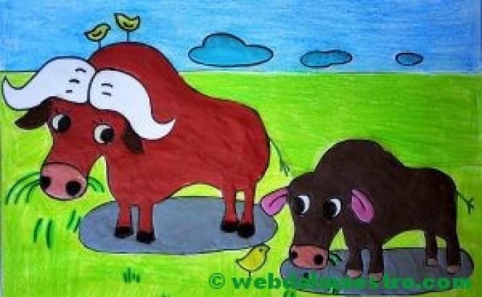 Manualidades-Búfalos
