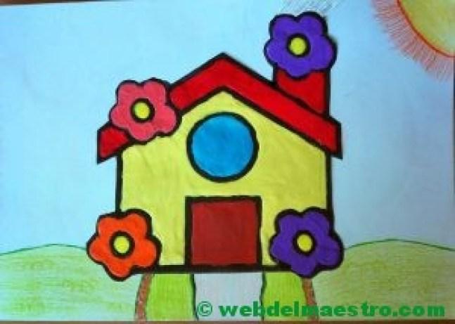 Manualidades-casa de plastilina