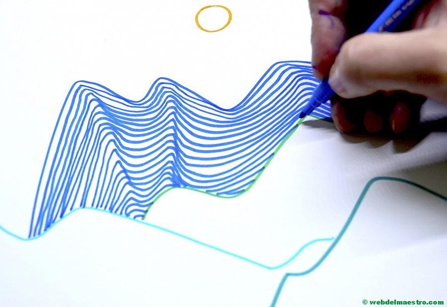 Dibujos Con Lineas Dibujos En 3d Para Ninos Web Del Maestro