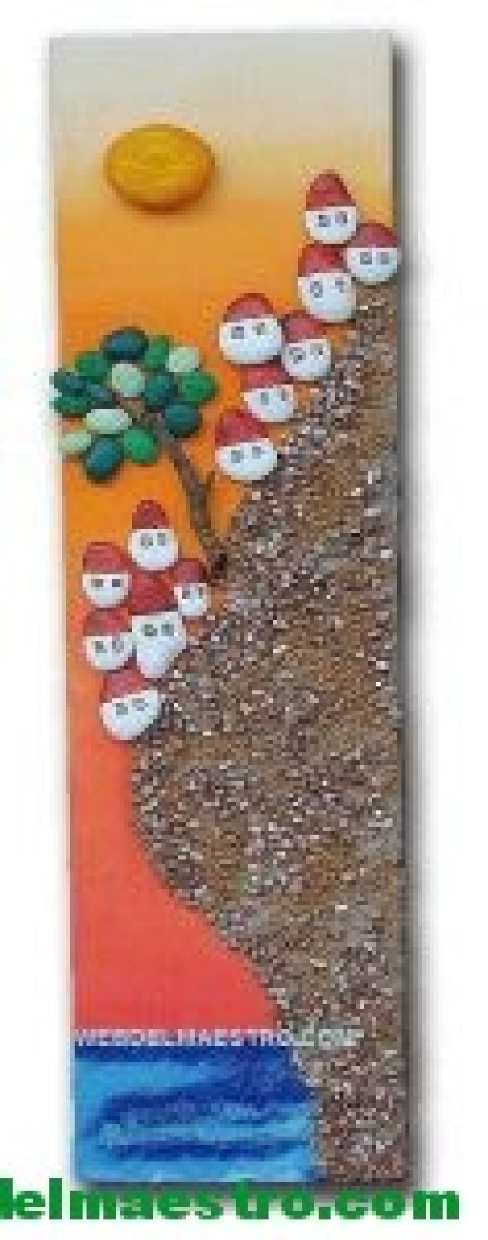 Cuadros hechos con piedras-3