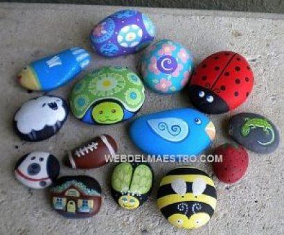 divertidas piedras pintadas