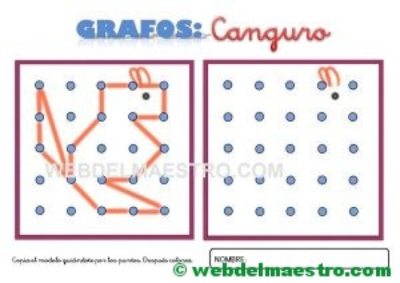 Grafos-Unir puntos-canguro