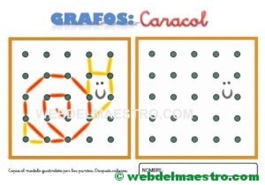 Grafos-Unir puntos-caracol-2