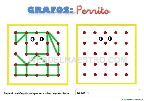 Grafos-Unir puntos-perrito