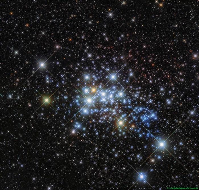 El cielo lleno de estrellas- Telescopio Hubble-