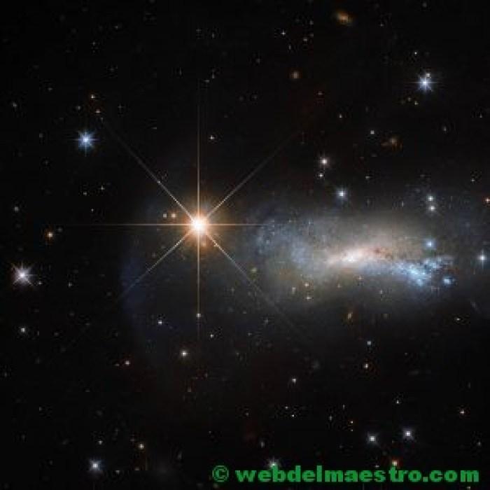 El cielo lleno de estrellas- Telescopio Hubble