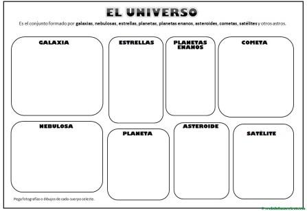 El universo para ilustrar