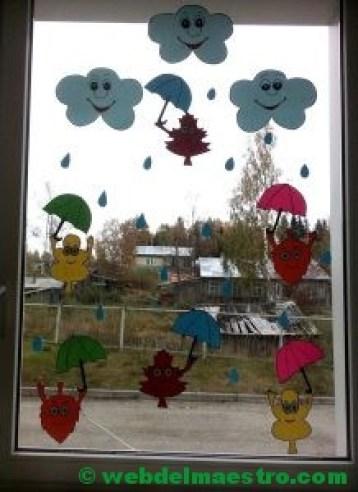 Ideas de otoño para decorar ventanas-4