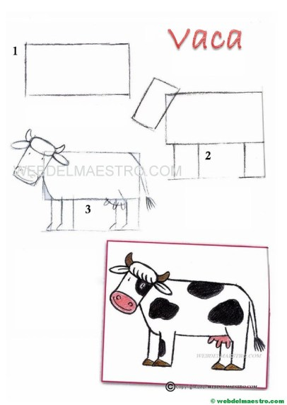 cómo dibujar-vaca
