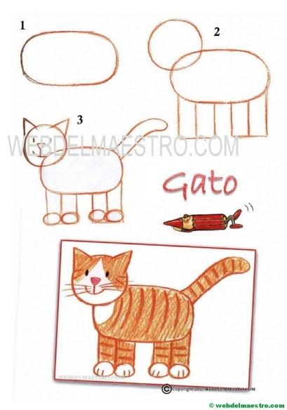 dibujos fáciles-gato