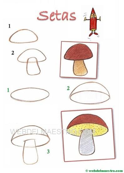 dibujos fáciles paso a paso-setas
