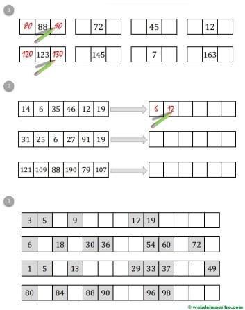 Fichas De Matematicas Calculo Mental Web Del Maestro