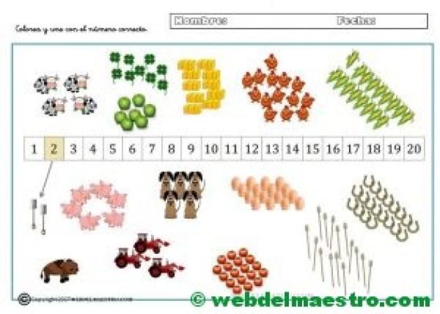 Ejercicios de matemáticas-Ficha 1