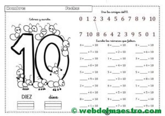 Ejercicios de matemáticas-Ficha 3