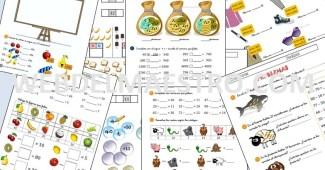 Fichas de matemáticas - Cálculo mental