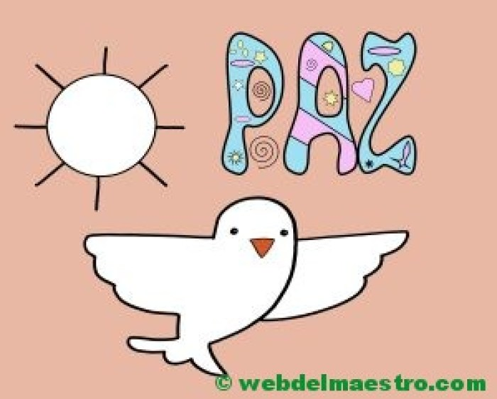 Paloma de la Paz para 2 años