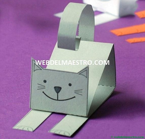 gato de cartulina-Terminación 1