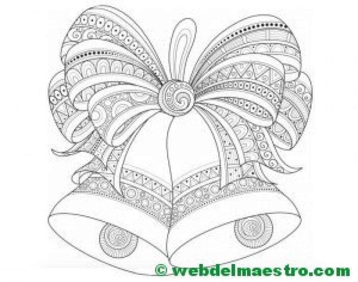 Dibujos navide os para colorear web del maestro - Dibujos originales para pintar ...