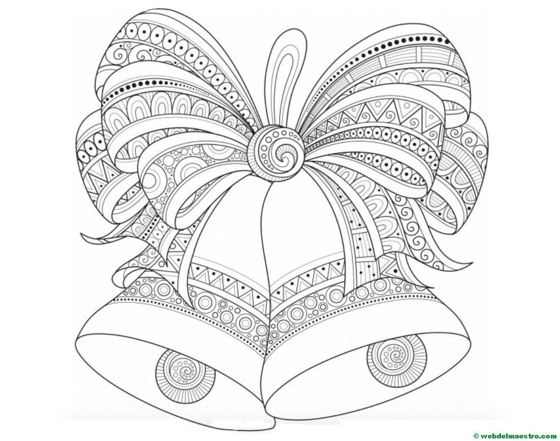 Dibujos Originales De Navidad Campanas Web Del Maestro - Dibujos-originales-de-navidad