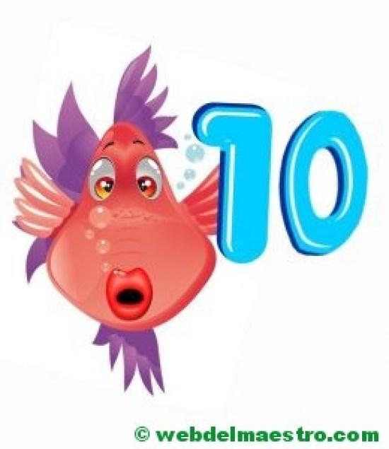 El número 10