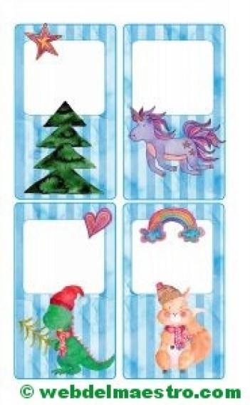Postales de Navidad originales-tamaño mediano-4