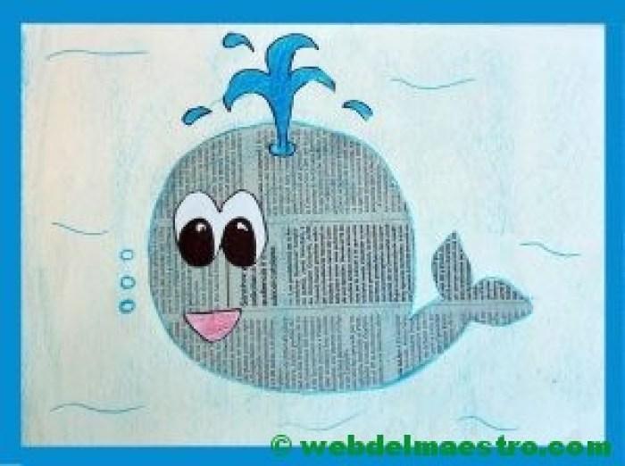 Manualidades para niños con papel periódico - Web del maestro