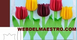 Como Hacer Flores De Papel Faciles Archives Web Del Maestro