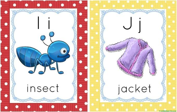 letras I-j