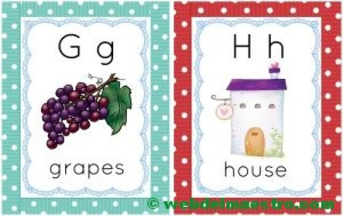 letras g-h