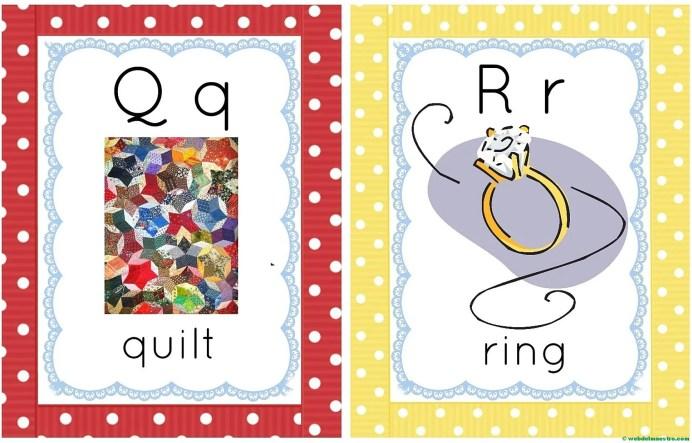 letras q-r