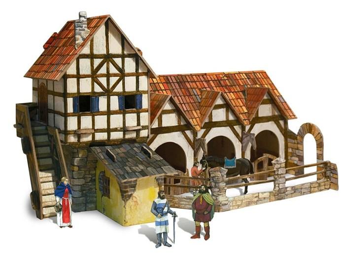vivienda de la época medieval