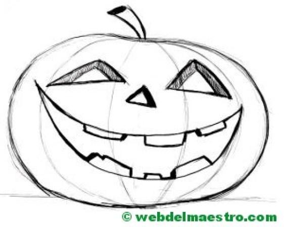 Calabaza de Halloween-2