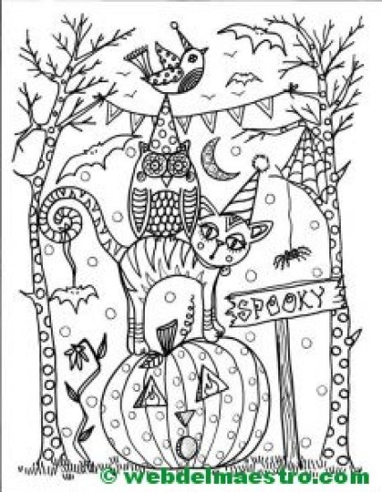 Dibujo de halloween-8