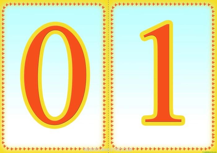 Números 0-1