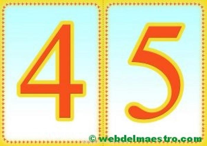 Números 4-5