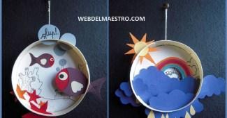 Diorama para niños