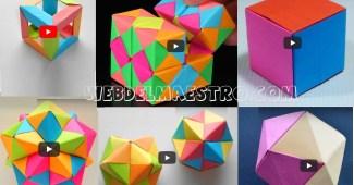 Origami-Figuras geométricas tridimensionales