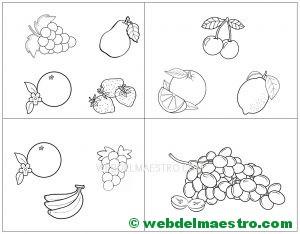 Plantillas de frutas