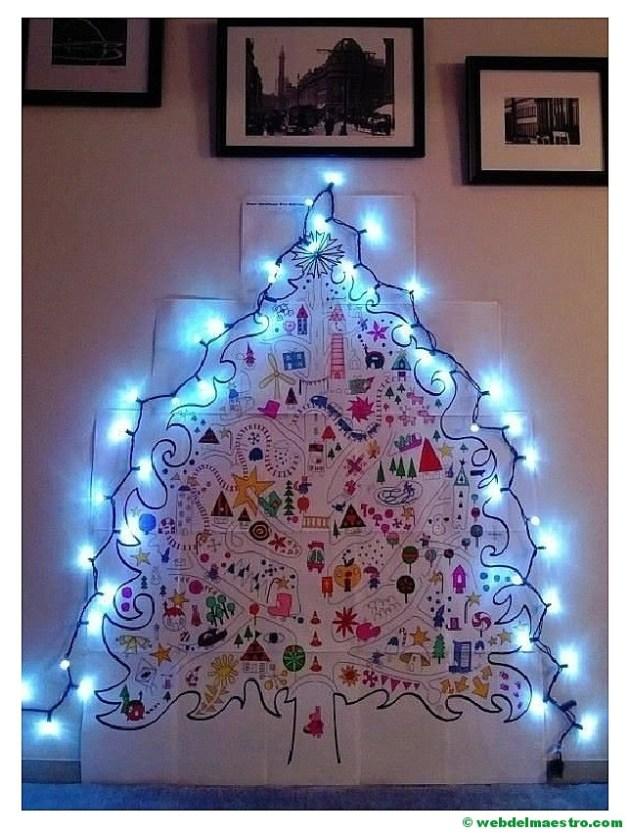 póster árbol de Navidad