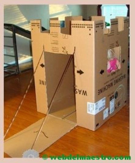 castillo de cartón-I